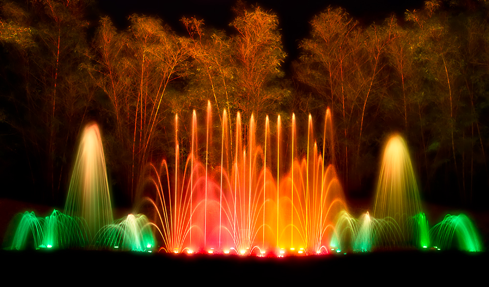 Musical fountain thenmala ecotourism